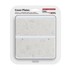 Cubierta Consola Nueva Nintendo 3ds Mario Blanco 2212766