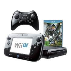 Consola Nintendo Wii U Negra  +  Monster Hunter 3  +  Pro Controller 2300499