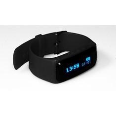 Pulsera Que Monitoriza Actividad Y Sueño  /  Lausana Negro  /  Reloj Digital /  Bluetooth 4.0  /  No