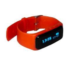 Pulsera Que Monitoriza Actividad Y Sueño  /  Lausana Rojo  /  Reloj Digital / bluetooth 4.0 /  Notif
