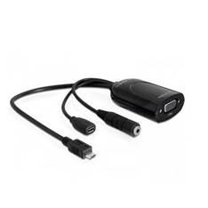 Adaptador Micro Usb-m Mhl A Vga-h  +  Audio 31968