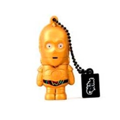 Memoria Usb Tribe 8gb Star Wars C-3po Usb 2.0 320004