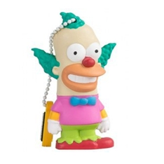 Memoria Usb Tribe 8gb Simpson Krusty Usb 2.0 320066