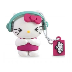 Memoria Usb Tribe 8gb Hello Kitty Dj  Usb 2.0 320093