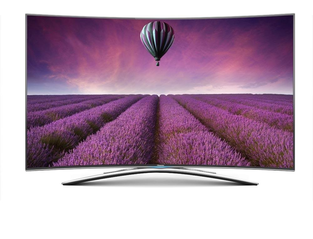 Led Tv Curvo Hisense 55 Pulgadas 55xt810  /  Real 4k  /  3d  /  Smart Tv Vision  /  Doble Sintonizad