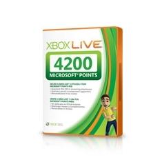 Accesorio Xbox 360 - Tarjeta 4200 Puntos 56P-00216