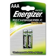 Blister Energizer Dos Pilas Aaa Recargables Hr-03 700mah Clasica 1.2v 625996