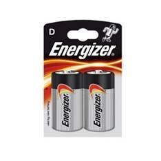 Blister Energizer Dos Pilas Lr-20  ( D ) 1.5v  /  Linternas  /  Radios /  Juego Electronicos  /  Man