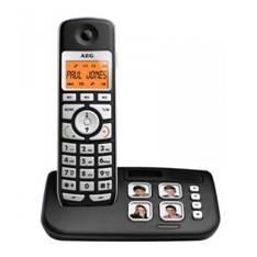 Telefono Inalambrico Aeg Voxtel S120 Con 4 Memorias Directas Con Foto  /  Manos Libres  /  Agenda De