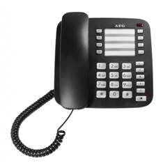 Telefono Sobremesa Aeg Voxtel C100 Bipieza En Formato Mesa Y Pared  /  8 Memorias Directas Y 10 Indi