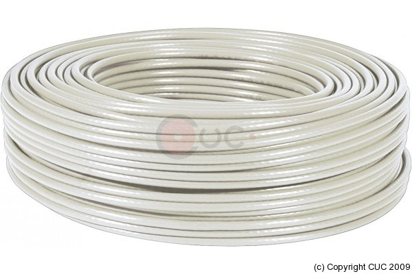 Cable Utp Cat 6 Solido Losh Bobina 100m Gris 821310