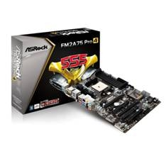 Placa Base Asrock Sm2a75 Pro4 Amd Fm2 A10, A8, A6, A4, Athlon X4 Ddr3 Usb 3.0 Hdmi Dvi  Vga Atx 90-M