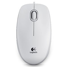 Mouse Logitech Optico B100 Usb Blanco 910-003360