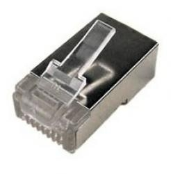 Conector Rj45 Doble Blindaje Categoria 6 911970