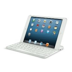 Teclado Logitech Keyboard Ultrathin Para Ipad Mini Blanco 920-005115
