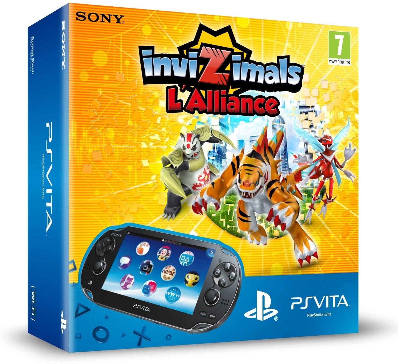 Consola Ps Vita Invizimals Wifi 9203483
