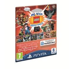 Accesorio Sony Ps Vita - Tarjeta Memoria Memory Card 8gb  +  Juego Lego 9268598