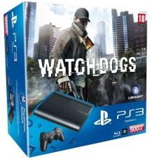 Consola Ps3 500 Gb  +  Watch Dogs 9435617