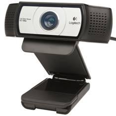 Webcam Logitech C930e  /  Usb  /  Full Hd  /  Audio  /  Lente Carl Zeiss 960-000972