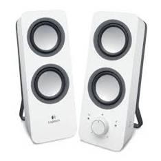 Altavoces Logitech Multimedia Z200 2.0 /  Blancos /  10w 980-000811