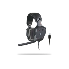 Auriculares Con Microfono Logitech G35 Surround Sound Headset 981-000117