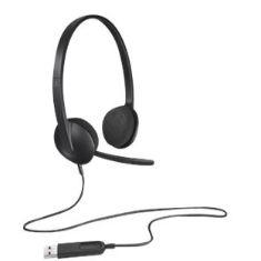 Auriculares Con Microfono Logitech Headset H340 981-000475