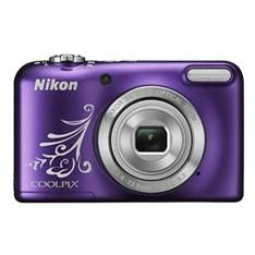 Camara Digital Nikon Coolpix L31 Purpura Line Art 16.1mp Zo 5x Hd Lcd 2.7 Pulgadas  +  Estuche 999CL