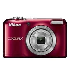 Camara Digital Nikon Coolpix L31 Roja 16.1mp Zo 5x Hd Lcd 2.7 Pulgadas  +  Estuche 999CL31R1