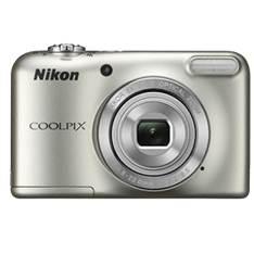 Camara Digital Nikon Coolpix L31 Plata 16.1mp Zo 5x Hd Lcd 2.7 Pulgadas  +  Estuche 999CL31S1