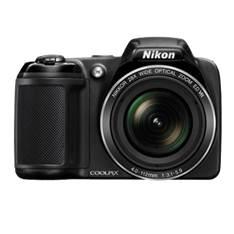 Kit Camara Digital Nikon Coolpix L340 Negro 20.2mp Zo 28x Hd Lcd 3 Pulgadas /  Hd  +  Estuche 999CL3