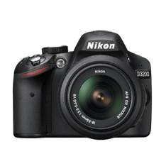 Kit Camara Digital Reflex Nikon D3200 Negro 24.2mp  +  Afs Dx18-55g No Vr  +  Afs Dx55-200g Vr  +  M