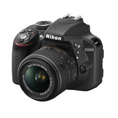 Kit Camara Digital Reflex Nikon D3300 Negro 24.2mp  Afs Dx18-55g No Vr  +  Estuche  +  Libro  +  Tri