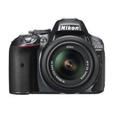 Kit Camara Digital Reflex Nikon D5300 Negro 24.2mp  +  Afs Dx18-55g Vrii  +  Estuche  +  Libro 999D5