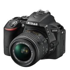 Camara Digital Reflex Nikon D5500 Negro 24.2mp  +  Afs Dx18-55g Vrii 999D5500RII