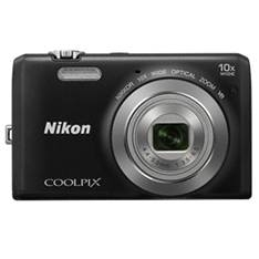 Camara Digital Nikon Coolpix S6700 Negra 20 Mp Litio Zo 10x Hd  Lcd 3 Pulgadas 999S6700B