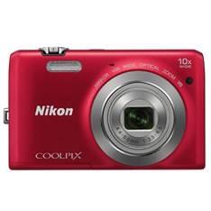 Camara Digital Nikon Coolpix S6700 Roja 20 Mp Litio Zo 10x Hd  Lcd 3 Pulgadas 999S6700R