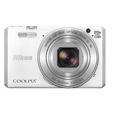 Camara Digital Nikon Coolpix S7000 Blanca 16 Mp Litio Zo 20x Hd  Lcd 3 Pulgadas Wifi  +  Nfc 999S700