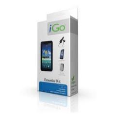 Accesorio Ipad 2 Essential Kit Igo. Funda Protectora Silicona  +  Protector Pantalla Diamant +  Carg