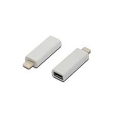 Adaptador  Usb  B Hembra A Apple Iphone 5  /  5s  /  6 De 8 Pines ( Lightning ) Blanco AK-600501-000