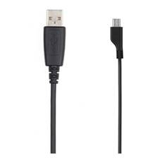 Cable De Cargar Y Datos Samsung Micro Usb Macho A Usb Macho Para Tablet Y Movil Negro APCBU10BBECSTD