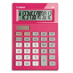 Calculadora Canon Sobremesa As-120 12 Digitos Rosa AS-120P