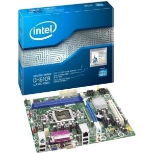 Placa Base Intel Dh61cr, Intel / i7, I5, I3, Lga 1155, Ddr3 1333 8gb, Usb 2.0, Dvi, Micro Atx Bulk B