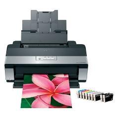 Impresora Epson Photo Stylus R2880 A3 /  5760dpi /  9ppm /  Usb /  Dvd C11CA16305