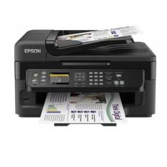Multifuncion Epson Inyeccion Color Workforce Wf2540wf Fax /  A4 /  9ppm  /  Usb /  Red /  Wifi /  Ad
