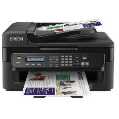 Multifuncion Epson Inyeccion Color Workforce Wf2530wf Fax /  A4 /  9ppm  /  Usb /  Wifi /  Adf C11CC