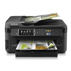 Multifuncion Epson Inyeccion Color Workforce Wf7610dwf Fax /  A3 +  /  18ppm /  Usb /  Red /  Wifi /