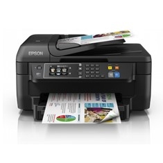 Multifuncion Epson Inyeccion Color Workforce Wf2660dwf Fax /  A4 /  13ppm  /  Usb /  Red /  Wifi /