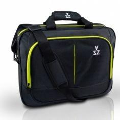 Bolsa  /  Bandolera Para Portatil 13 Pulgadas Y 14 Pulgadas Negro Abbrazzio C40-001