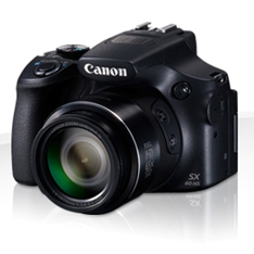 Camara Digital Canon Powershot Sx60 Hs 16mp /  Zo 65x Angular /  3 Pulgadas Pulgadas /  Hs /  Litio