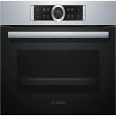 Horno Bosch Cbg6750s1 Multifuncion, A + , 0.595m, 47 Litros, Cristal Negro Y Acero Inoxidable CBG675